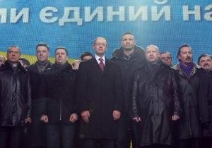 Турчинов обещает к марту распределить мажоритарные округа между оппозицией