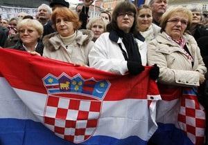 Хорватия снова приостановила визовый режим с Украиной
