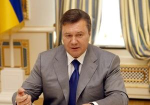 Янукович похвастался ростом ВВП