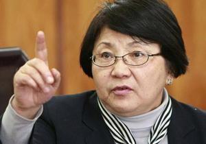 Роза Отунбаева стала президентом Кыргызстана (обновлено)