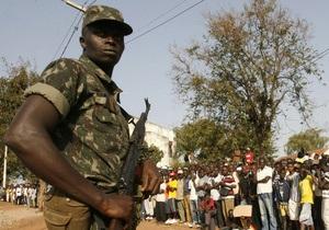 В Гвинее-Бисау военные пригрозили убить премьера, если пройдут публичные акции в его поддержку