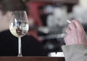 Закон о запрете курения - Газета: Некоторые киевские кафе готовы платить штраф за курение