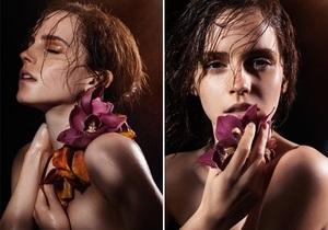 Натуральная красота: Эмма Уотсон снялась топлес для фотокниги