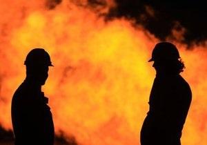 Под Киевом горела психиатрическая больница
