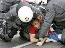 В Вене противники независимости Косово столкнулись с полицией