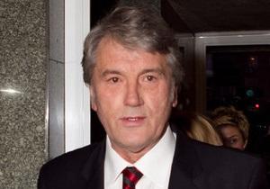 Ющенко объяснил, почему он не в тюрьме