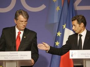 Саркози надеется, что вскоре Украина станет привилегированным партнером ЕС