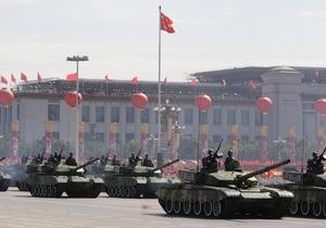 Китай вновь увеличивает расходы на армию