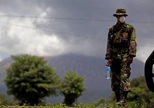 В Никарагуа из-за извержения вулкана эвакуированы более трех тысяч человек