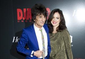 Ронни Вуд из Rolling Stones женился в третий раз