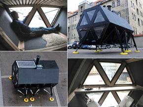 Датские дизайнеры создали движущийся дом