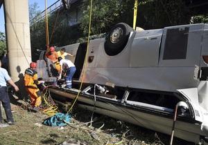В МИД нет информации о погибших или пострадавших украинцах при аварии автобуса в Турции