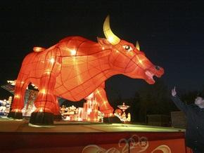 В Китае готовятся встретить год Быка