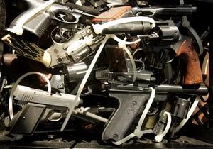 В Киевской области милиция изъяла самый крупный арсенал оружия за пять лет