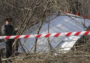 Туск: Россия не говорит всей правды о катастрофе самолета Качиньского