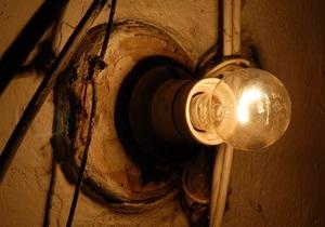 Свыше полусотни населенных пунктов в трех областях остаются без света