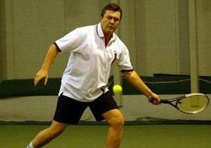 Янукович откроет в Киевской области бюст Шевченко и школу тенниса