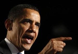 Ни слова о Каддафи: Обама озвучил позицию США по ситуации в Ливии