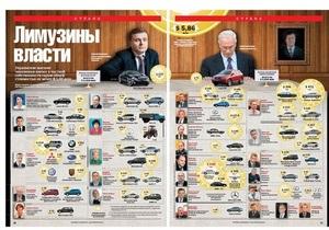 Корреспондент: Украинские высшие чиновники владеют автопарком машин стоимостью минимум $6 млн