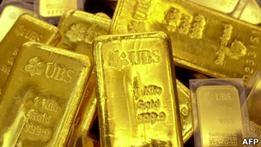 Во французском поезде нашли фальшивые слитки золота