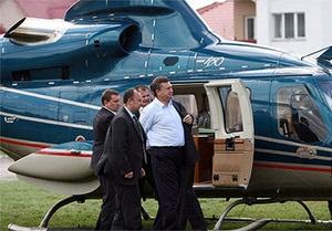 СМИ: Один полет Януковича в Межигорье обойдется в тысячу долларов