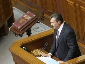 Янукович заявил о готовности двух с половиной фракций увеличить минимальную пенсию