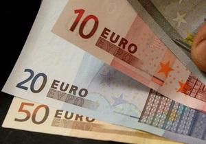 Евро на межбанке продолжил снижение