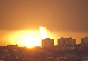 Сегодня ночью Израиль подверг сектор Газа самому интенсивному обстрелу