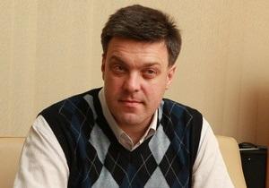 Тягнибок рассказал Корреспонденту, почему БЮТ связывает Свободу с Партией регионов