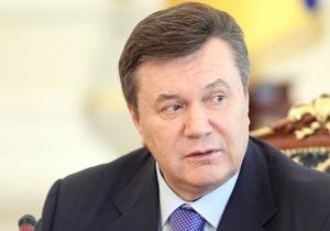 Янукович подписал указы о доступе к публичной информации