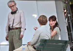 Вуди Аллен рассказал о естественности Карлы Бруни-Саркози и встрече с ее мужем