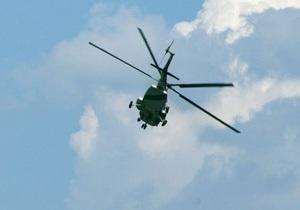 В Иркутской области разбился вертолет Ми-8 с сотрудниками МЧС на борту