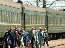 В поезде Ковель - Симферополь загорелся купейный вагон