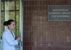 Главврач ЦКБ №5 возмущен поведением бютовцев и грозит выписать Тимошенко