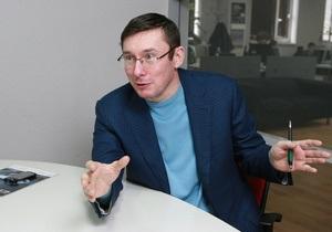 Луценко надеется, что Тимошенко будет баллотироваться на президентских выборах в 2015 году