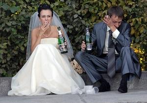 В Украине резко сократилось количество браков