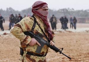 Сирийская оппозиция выразила готовность прекратить военные действия