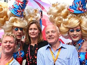 Супруга Гордона Брауна приняла участие в лондонском гей-параде