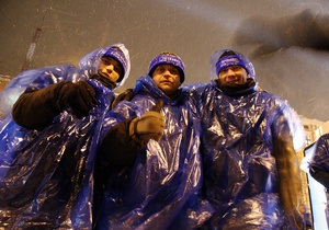 МВД: В Киев прибывают почти 6,5 тысяч сторонников Партии регионов