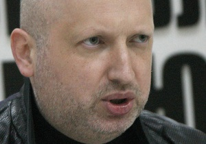 Турчинов не представляет, как Тимошенко на носилках будут привозить в суд