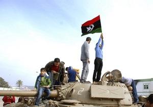 Ливийская оппозиция: Мы никого не просим прийти и поменять нам политический режим