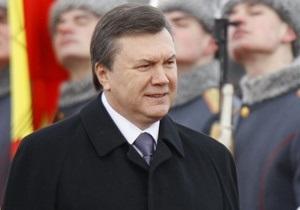 Янукович выразил соболезнования литовскому народу