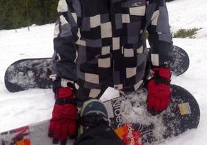 На Закарпатье снежной лавиной накрыло сноубордистов