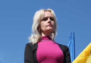 Фарион объяснила, почему Янукович не видит разницы между украинским и русским языками