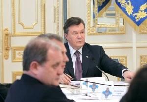 Янукович требует от Могилева, чтобы гаишники не останавливали автомобили безосновательно
