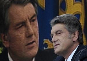 Ющенко отказался подписать принятый ВР закон о нормативно-правовых актах