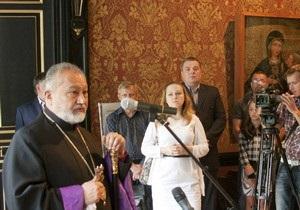 В Киеве состоялась презентация иконы XVI века Богоматерь Одигитрия