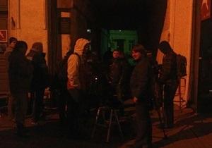 Дело Тимошенко: Журналисты пришли под Печерский суд в 4 утра