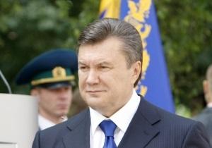Янукович поручил генпрокурору проверить информацию Кравчука