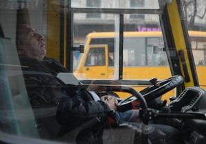 Киевские перевозчики угрожают забастовкой
